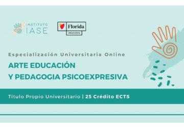ESPECIALIZACIÓN UNIVERSITARIA ONLINE EN ARTE EDUCACIÓN Y PEDAGOGIA PSICOEXPRESIVA (Título Propio)